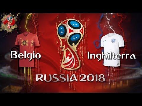 Belgio - Inghilterra | Diretta LIVE (Russia 2018)