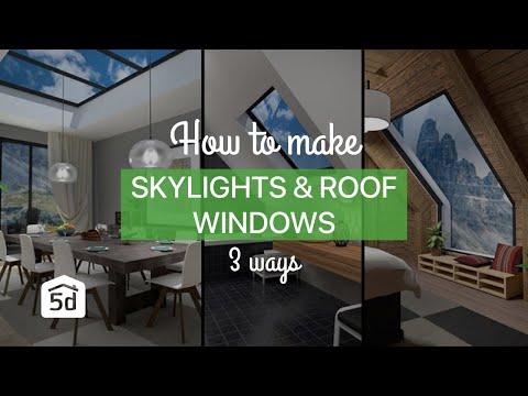 planner-5d-skylights-&-roof-windows-in-3-ways