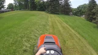 Mowing neighbors tall annoying grass pt.1