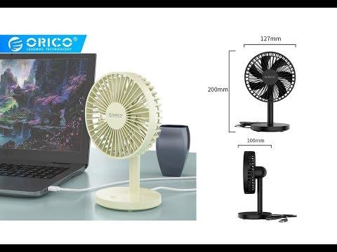 Портативный настольный мини Usb-вентилятор ORICO+ Тест