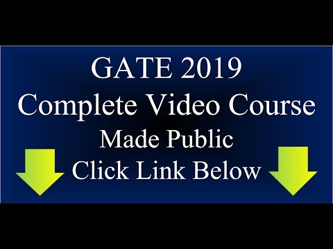 GATE ECE LECTURE(HINDI & ENGLISH): CONTROL SYSTEM: STATE SPACE ANALYSIS