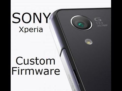 Sony Xperia - How To Unlock Bootloader And Install A Custom Firmware