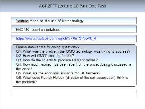 Lecture 10: Genetic Engineering