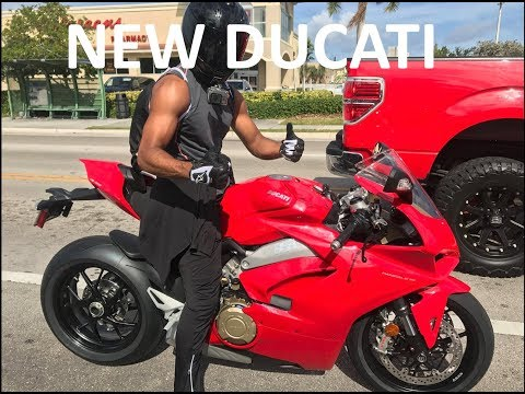 I Bought The Ducati Panigale V4 - NEW MOTORCYCLE