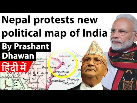 Download Lagu  Nepal protests new political map of India Kalapani Dispute Current Affairs 2019 Mp3 Free