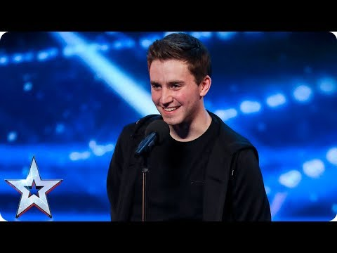 David Geaney taps up a storm on the BGT stage   Auditions Week 7   Britain's Got Talent 2017