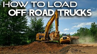 HOW TO LOAD AΝ OFF ROAD TRUCK // Heavy Equipment Operator Tips & Tricks