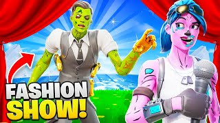I used *SECRET* Skins in Fortnite Fashion Shows... (so cool)