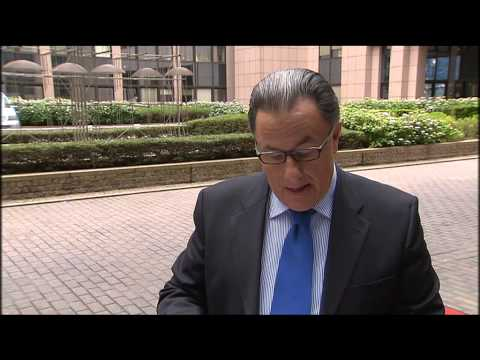Meeting of the Education, Youth, Culture and Sport Council - Brussels 21.05.14 - Doorstep Statement