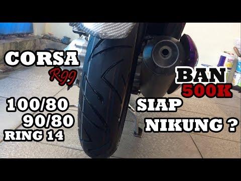 REVIEW BAN CORSA R99 90/80-14 X 100/80-14 HONDA BEAT FI