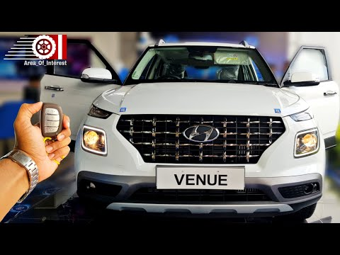 Hyundai Venue SX(O) Sunroof | On Road Price List | Mileage | Features | Wireless Charger Demo