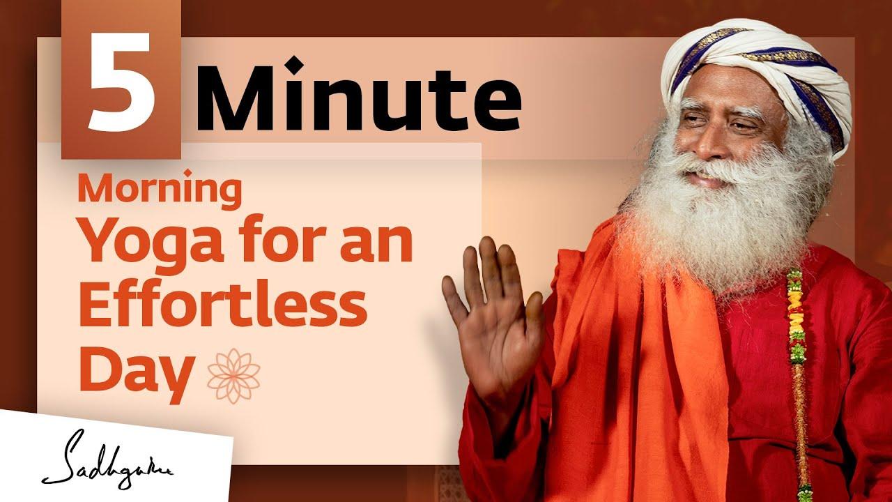 Yoga For Inner Exploration: Shambhavi Mudra - 5 mins #MeditateWithSadhguru