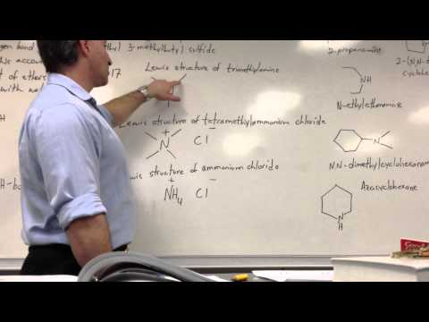 Nomenclature: Ethers, Sulfides, Amines And Halides