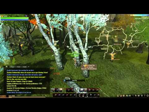 archeage how to make thunderstruck trees