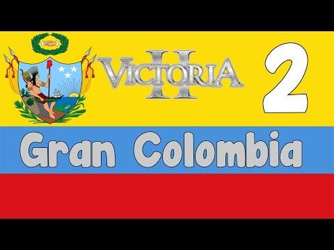 Victoria 2 HPM mod - Gran Colombia 2