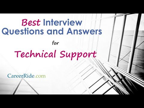 Technical writing service questions for interview