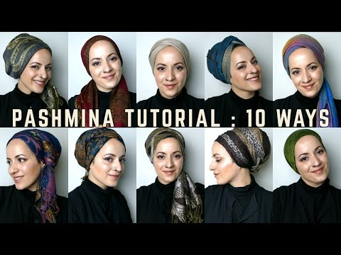 Wrapunzel: 10 Pashmina Tutorials!
