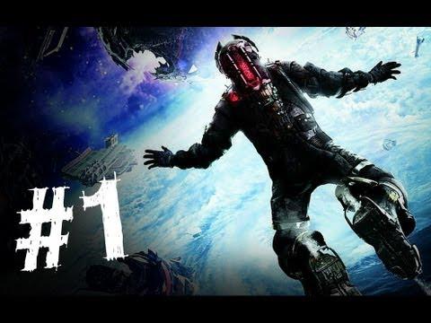 Dead Space 3 Gameplay Walkthrough Part 1 - Rude Awakening - Chapter 1 (DS3)