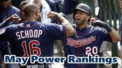 MLB May Power Rankings