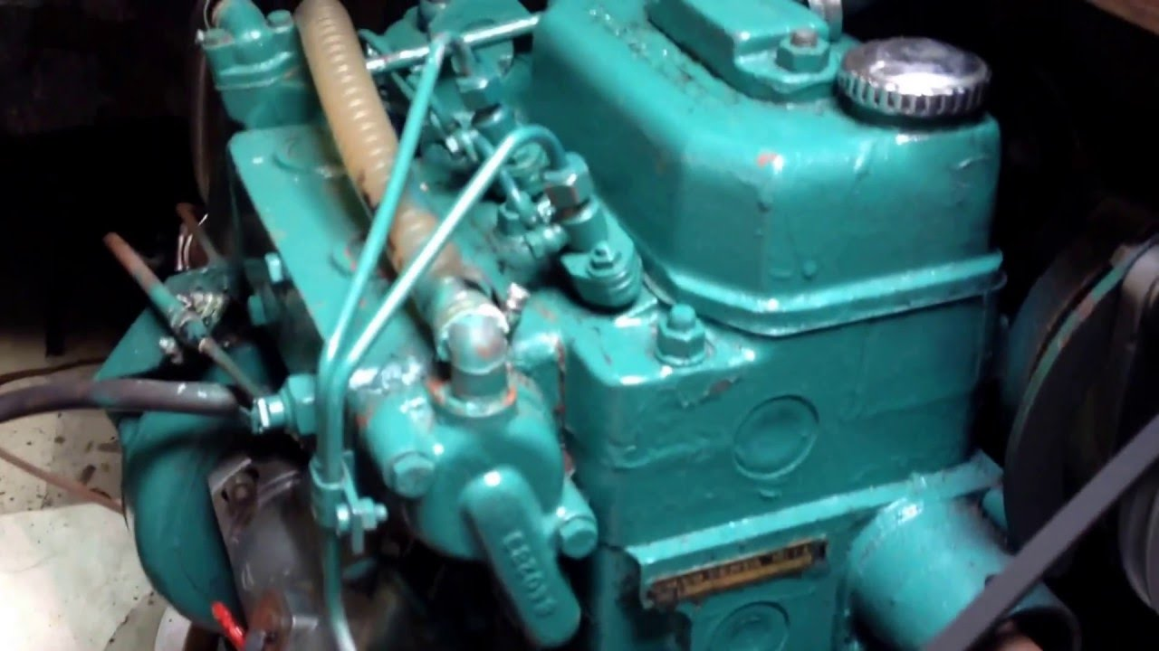 Diesel Engine Working >> Volvo MD7A 13hp Diesel engine. - YouTube