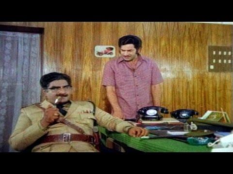 Eenadu Movie ||  Krishna Emotional Scene To Satyanarayana || Krishna,Radhika,Rao Gopal Rao