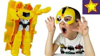 - Игрушки трансформеры Бамблби Автоботы против Десептикона Kids toys transformers