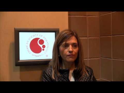Interview Dr. Maria-Victoria Mateos, ASH 2013