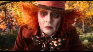 Алиса в Зазеркалье   Русский Трейлер 2016 Миа Васиковска, Джонни Депп Фильм HD