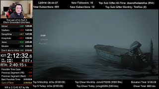 The Last of Us Part II Speedrun World Record! (2:12:40 IGT) for Ellie% on Grounded mode (Glitchless)