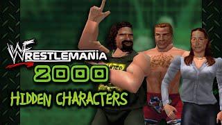 WWF WrestleMania 2000 - Hidden Characters (N64)