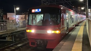 【車両故障の影響でB2代走!】名鉄1116F1516号車 特急岐阜行き 新舞子発車