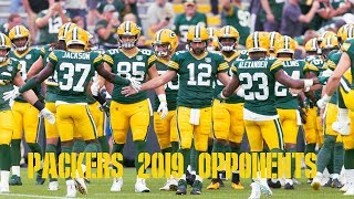 Taking a Look at the Packers 2019 Opponents