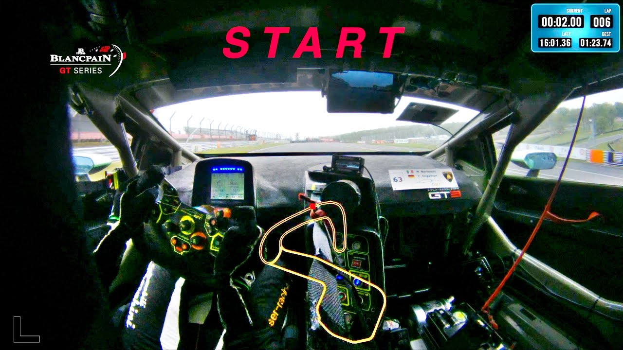 Fastest Blancpain GT Series Brands Hatch onboard lap - LAMBORGHINI HURACAN GT3 - Motor Informed