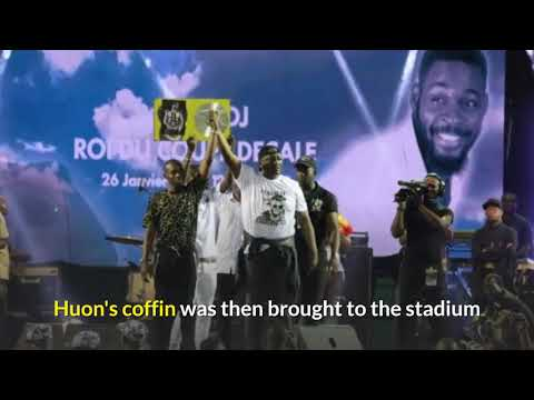 DJ Arafat fans open coffin during funeral unrest