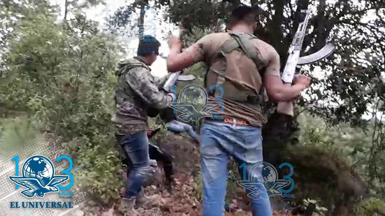 Download Sicarios graban emboscada a policías del EdoMex