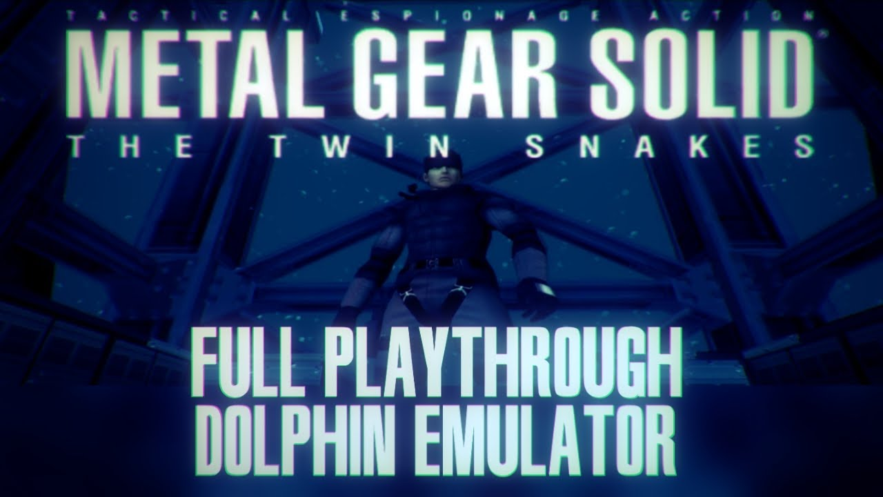 Download Metal Gear Solid Twin Snakes Full Playthrough Dolphin Emulator (No commentary)