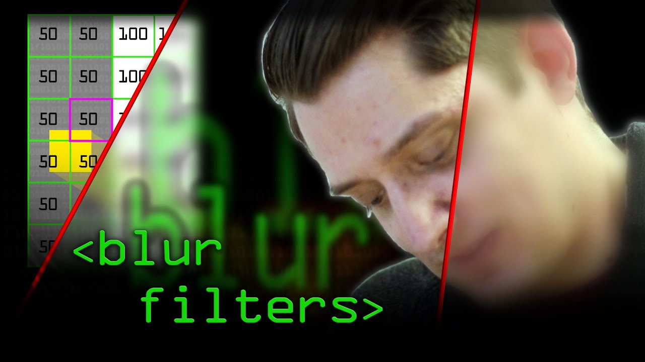 How Blurs & Filters Work - Computerphile