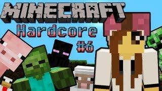 Minecraft Hardcore #6 - El zombie bebé poseído