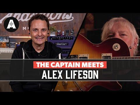 The Captain Meets Alex Lifeson (Rush)