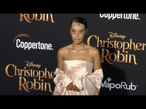"Rainy Milo ""Christopher Robin"" World Premiere Red Carpet"
