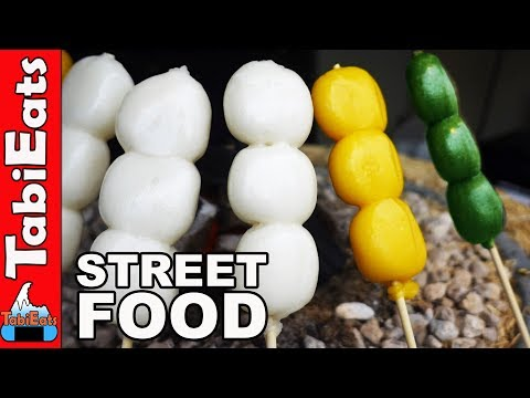 Street Food 2017 - Japanese Street Food in Narita, Japan