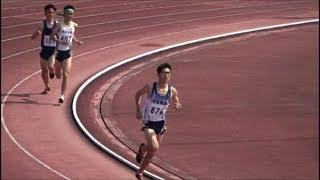 第27回群馬大学競技会2018.4.1 男子1500m2組
