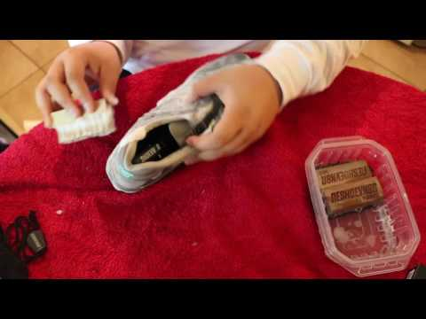 HOW TO CLEAN NEW BALANCES!!!