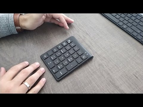 Bluetooth Numpad | Unboxing | Review.
