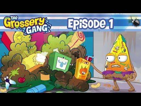 The Grossery Gang Cartoon - Episode 1 'Mount Yuck' Part 1