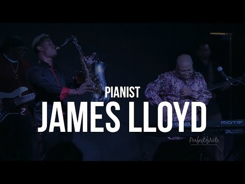 Pianist James Lloyd at The Perfect Note Jazz Club