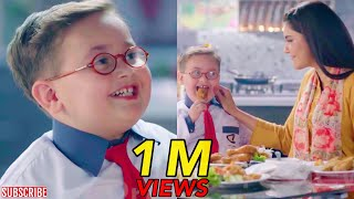 Ahmed Shah First TV Commercial With Nida Yasir! - Cute Little Pathan Ka Bacha Viral Advertisement!