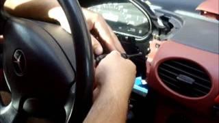 Mercedes benz A klasse lampje kilometerteller vervangen