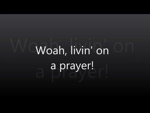 Bon Jovi - Livin' On A Prayer - Lyrics