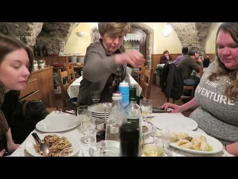 ITALIAN FOOD TASTE TEST - MEAT, MEAT AND PASTA
